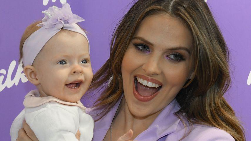 Mama-Goals: So relaxt ist Hana Nitsches Töchterchen Aliya