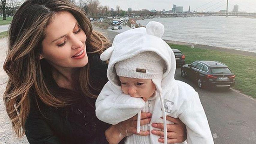 Hana Nitsche und ihre Tochter Aliya Frances