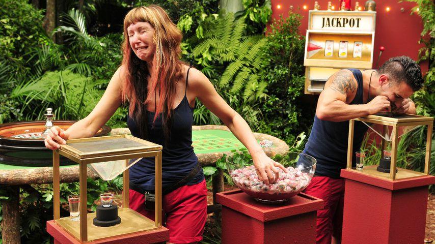 Hanka Rackwitz im Dschungel-Casino