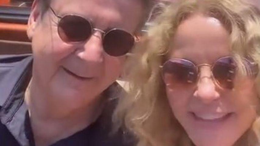 Superselten: Katja Burkard teilt Urlaubsvideo mit ihrem Mann