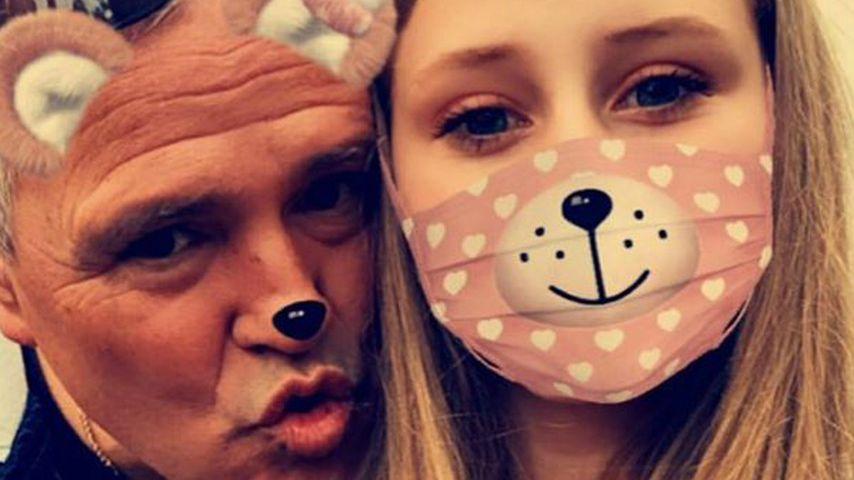 """""""Der Papa, den ich nie hatte"""": Loredana Wollny dankt Harald"""