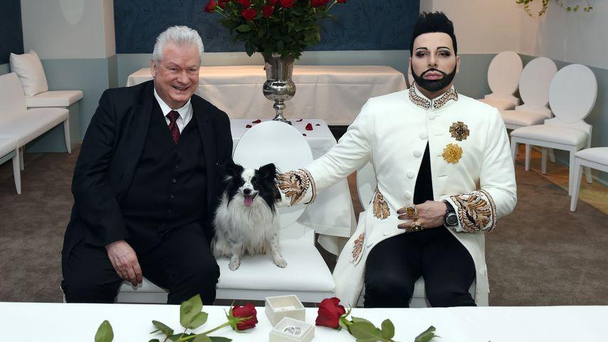 Pompöös: Harald Glööckler zeigt 1. Hochzeits-Foto
