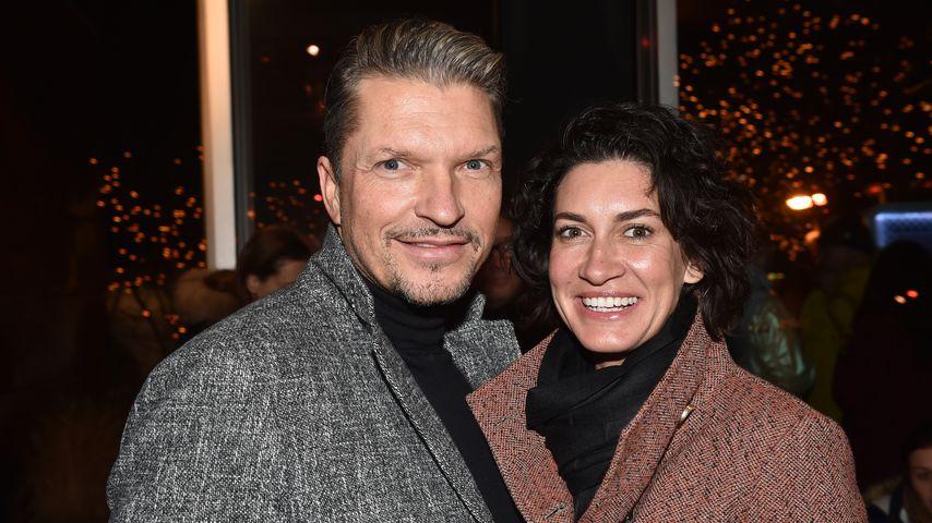 Hardy Krüger jr. und mit Ehefrau Krüger