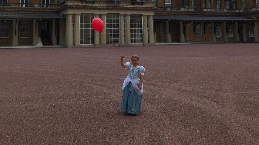 Am B-Day: Harper Beckham feiert pompös im Buckingham Palast