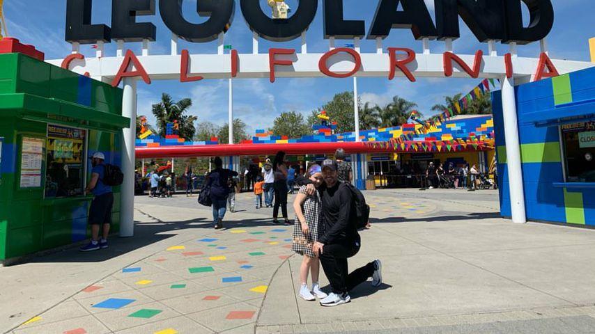 David Beckham fährt mit seiner Tochter Harper ins Legoland!