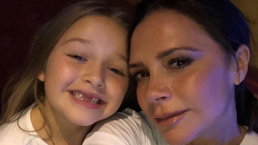 Wie Posh Spice: Harper Beckham hat Mama Vics Akzent drauf!