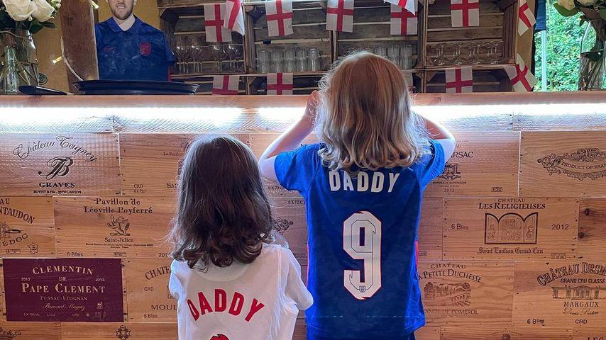 Harry Kanes Kids während der Fußball-EM 2021