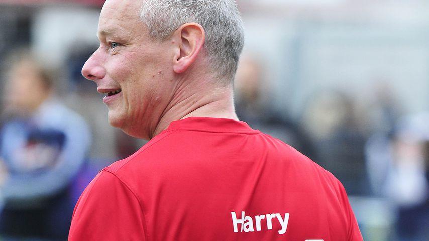 Harry Schulz bei einem Benefiz-Fußball-Spiel