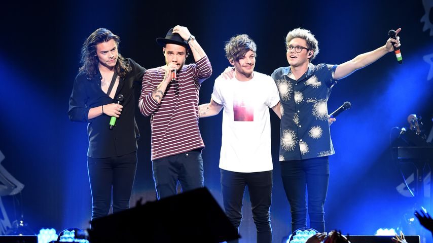 Harry Styles, Liam Payne, Louis Tomlinson und Niall Horan von One Direction