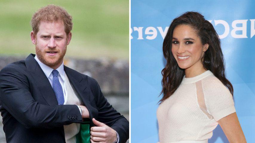 Meghan Markle macht erstes Liebesgeständnis an Prinz Harry!