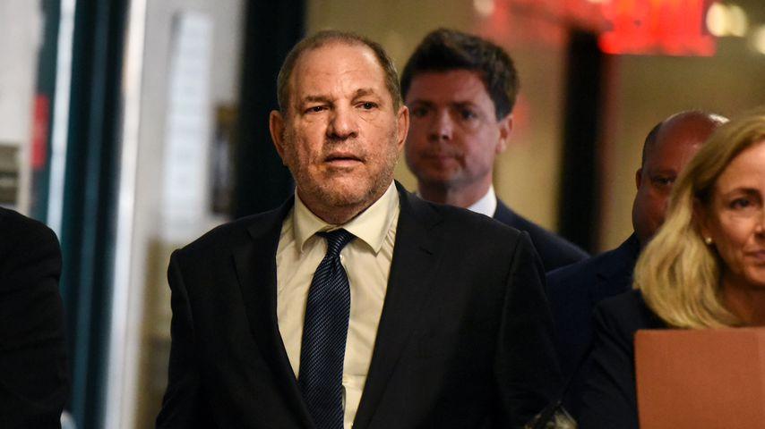 Harvey Weinstein im Gericht in New York