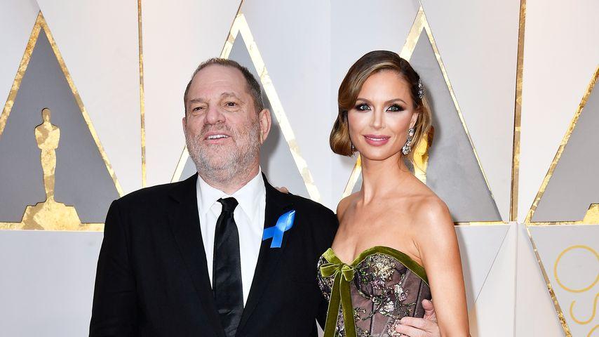 Harvey Weinstein und Georgina Chapman bei den Oscars 2017
