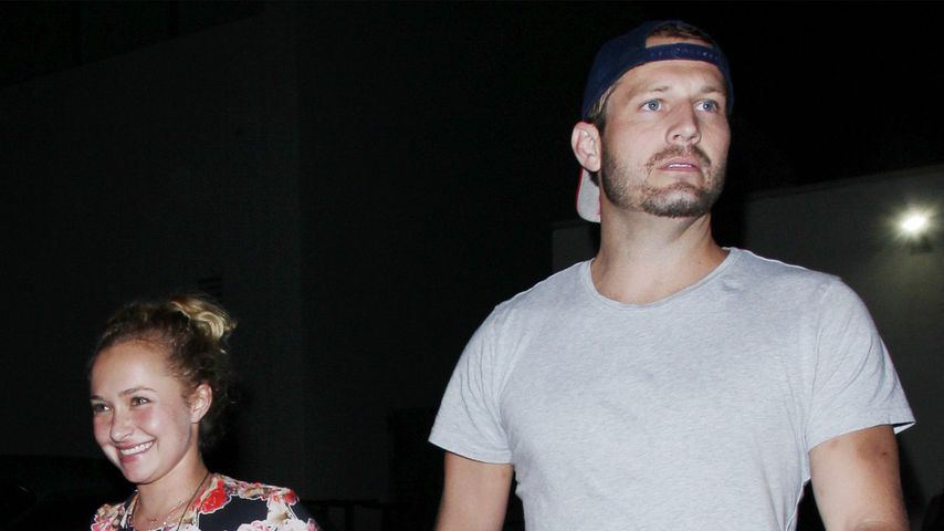 Hayden Panettiere und Brian Hickerson in Los Angeles
