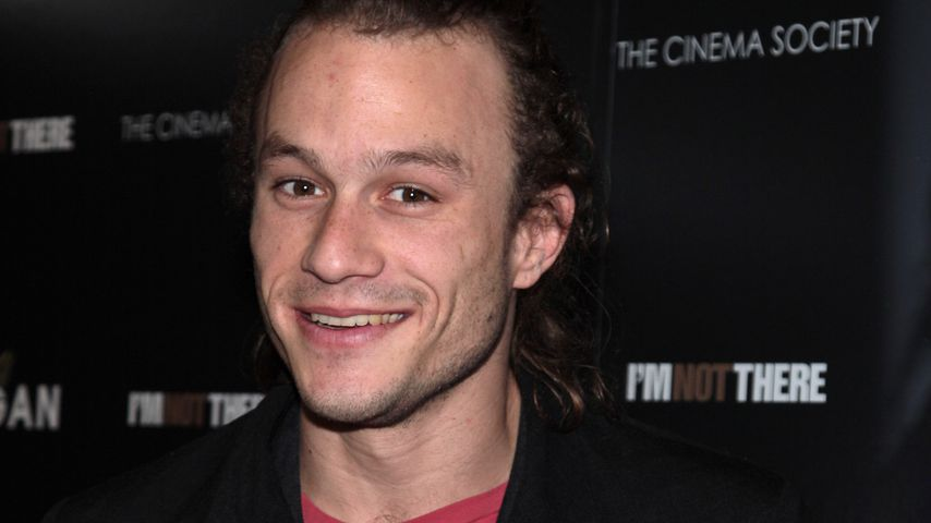 Heath Ledger im November 2007