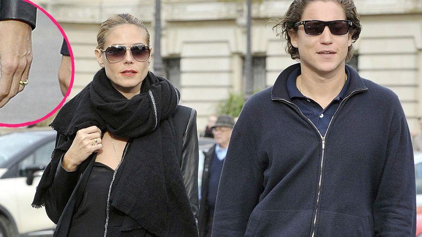Heidi Klums Ring: Stimmen die Verlobungsgerüchte?