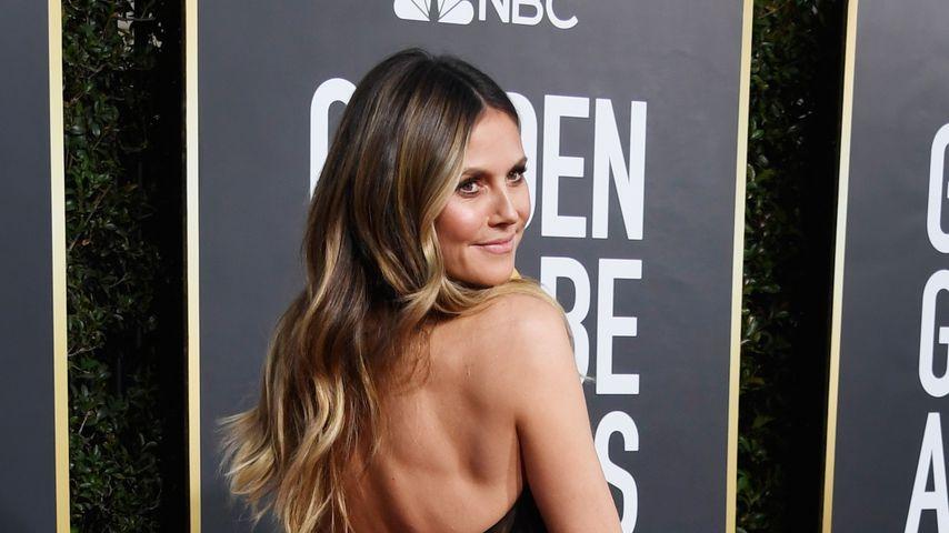Im hotten Jumpsuit: Gibt Heidi hier GNTM-Backstage-Einblick?