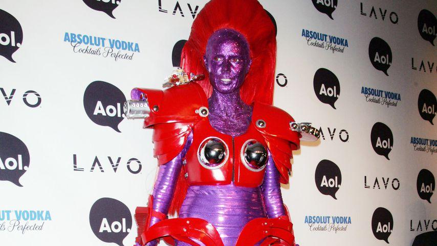 Heidi Klum als Transformer, Halloween 2010