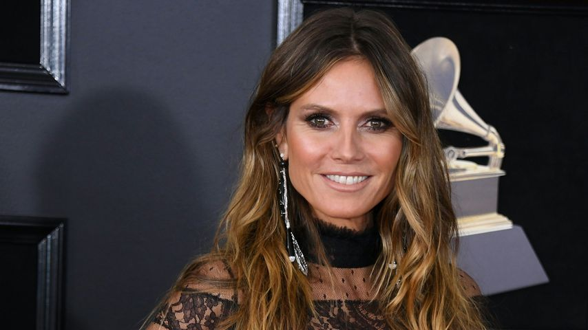 Heidi Klum bei den 60. Grammy Awards in New York