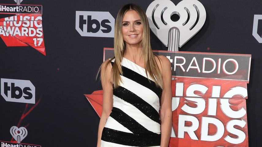 Heidi Klum bei den HeartRadio Music Awards 2017