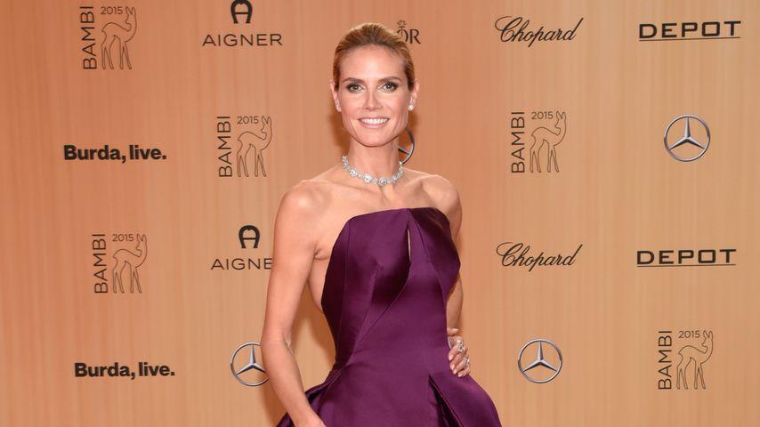Falsche Brüste & Silikon-Po: Ist Heidi Klums Kostüm zu sexy?
