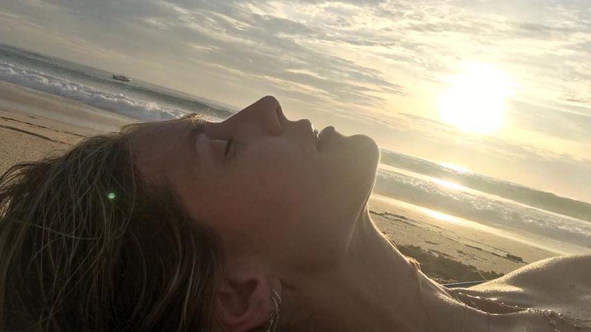 Single & ungeschminkt: Heidi Klum verabschiedet 2017 relaxt