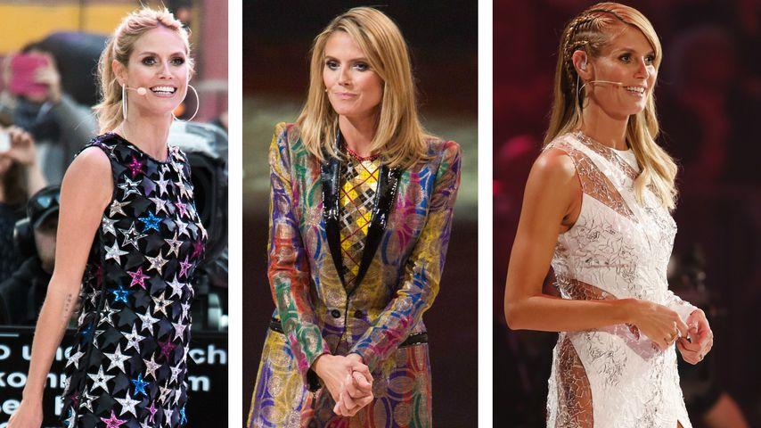 14 Mal GNTM-Finale: So hat sich Heidi Klums Look verändert