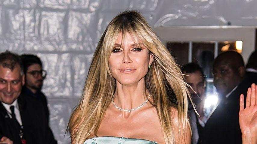 Heidi Klum im Februar 2020 bei der amfAR-Gala in New York