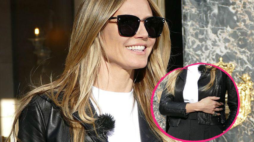 Trotz Schwanger-Dementi: Heidi Klum mit verdächtiger Pose