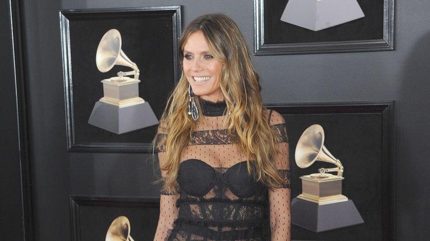 Heidi Klum bei den Grammys 2018
