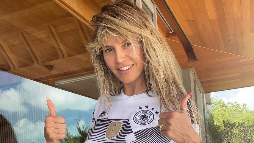 Heidi Klum im sexy Deutschland-Dress
