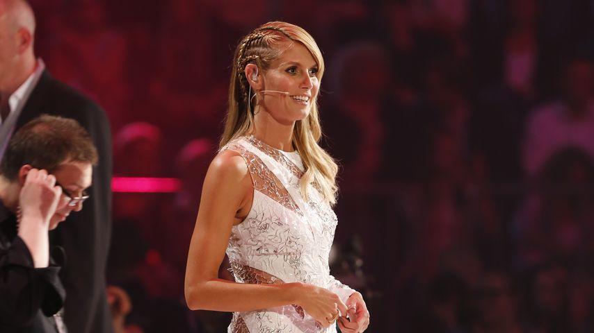 "Heidi Klum beim ""Germany's next Topmodel""-Finale 2014"