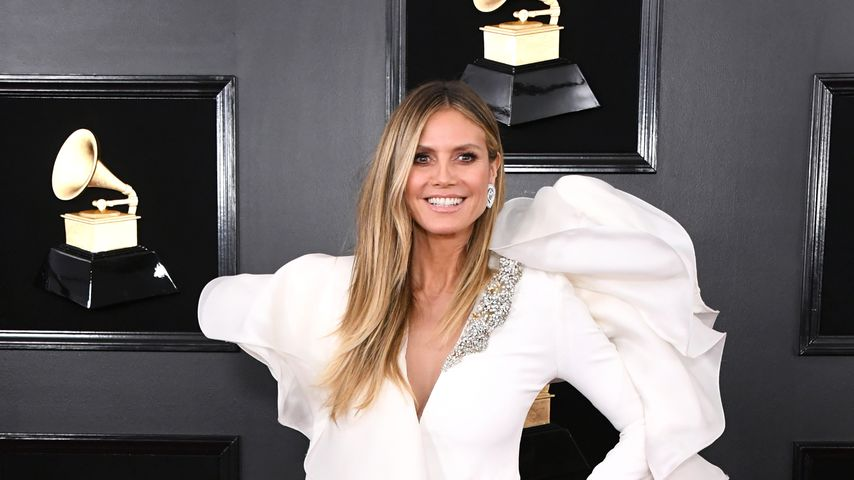 Heidi Klum bei den Grammy Awards 2019