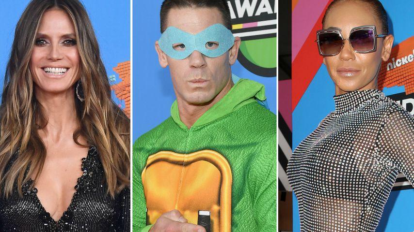 Ninja Turtle & Glitzerfummel: Die crazy Outfits der KCAs!