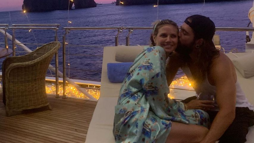 Honeymoon-Wehmut? Heidi Klum teilt Throwback-Pic mit Tom