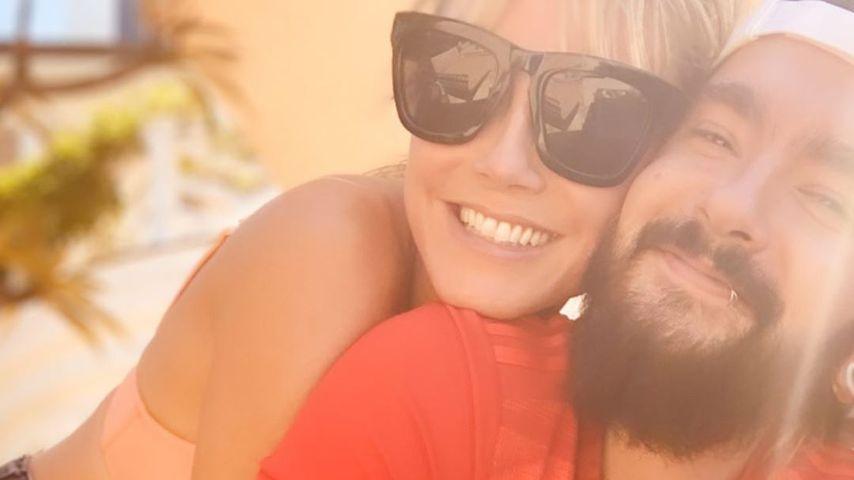 Heidi Klum und ihr Mann Tom, August 2020