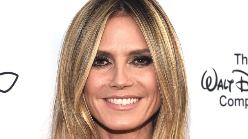 "Heidi Klum auf der ""From Paris With Love""-Gala im Oktober 2018"