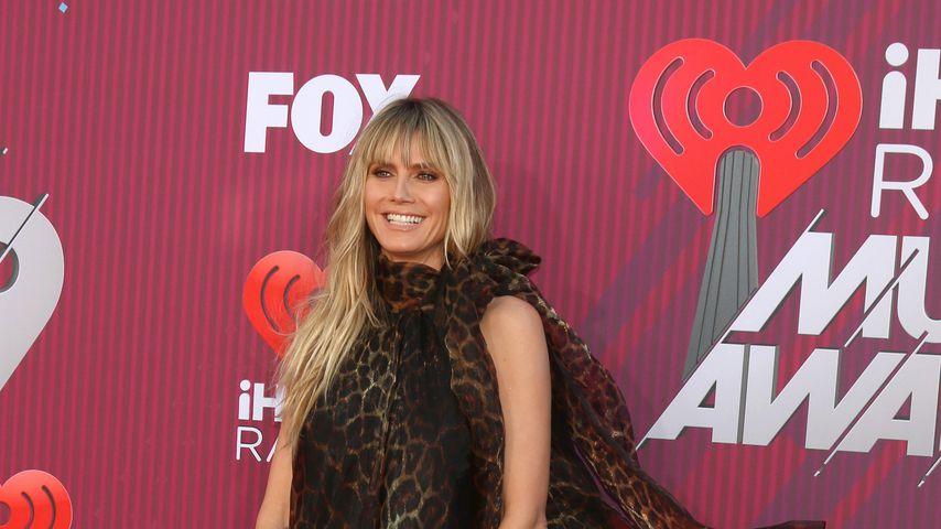 "Heidi Klum bei den ""iHeart Radio Music Awards"""
