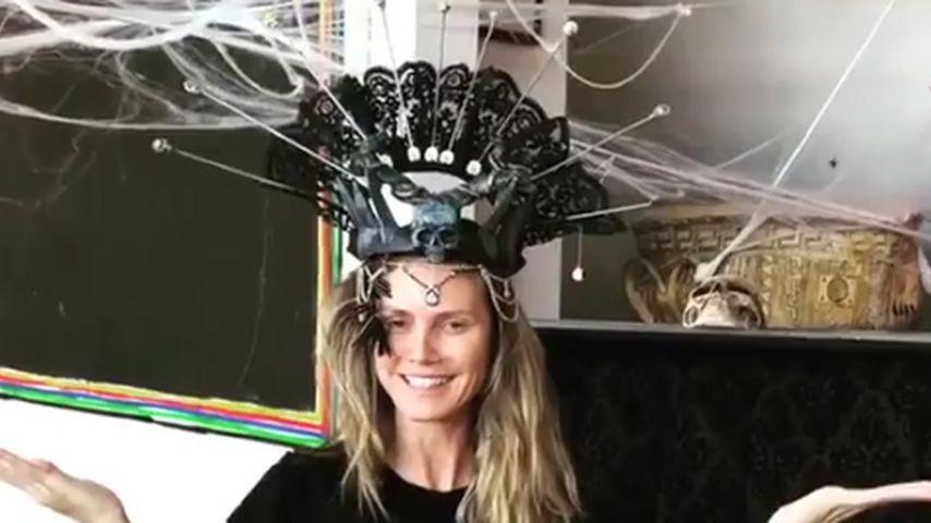 """Heidi Klum ganz offiziell zur """"Queen of Halloween!"""" gekürt!"""