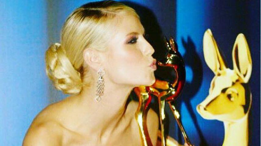 "Modeikone! Heidi Klum bekommt ihren zweiten ""Bambi"""