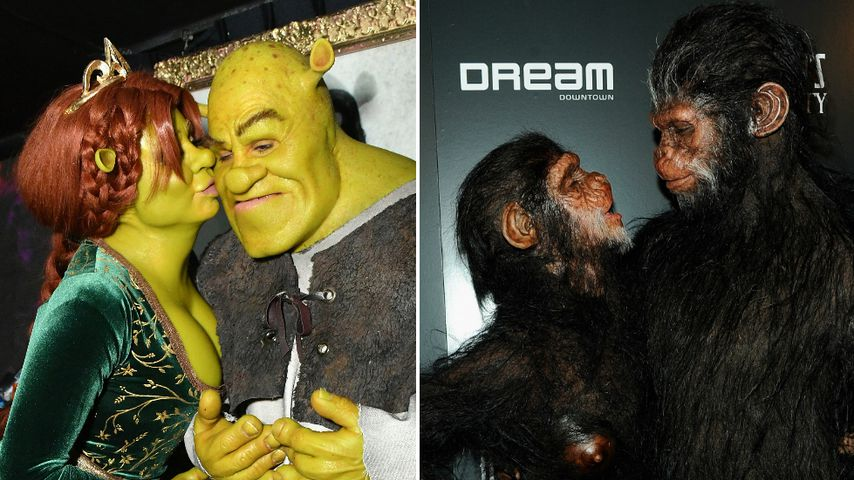 Shrek oder Affen-Duo: Was ist Heidis bestes Pärchen-Kostüm?