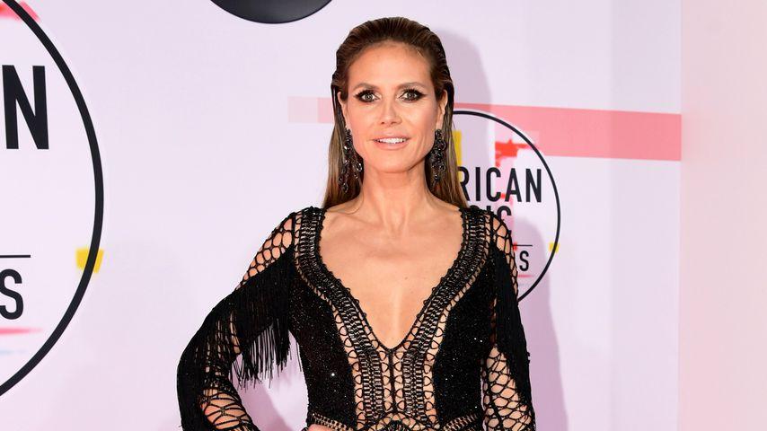 Heidi Klum bei den American Music Awards im Jahr 2018