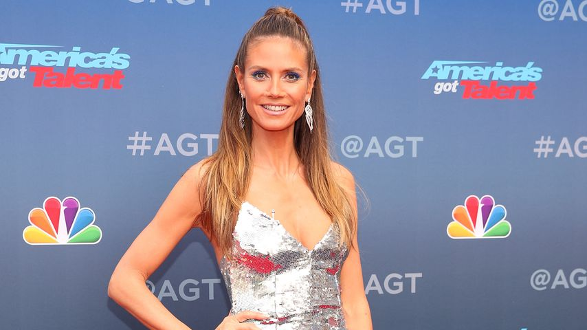 "Heidi Klum beim einem ""America's Got Talent""-Event in Pasadena"