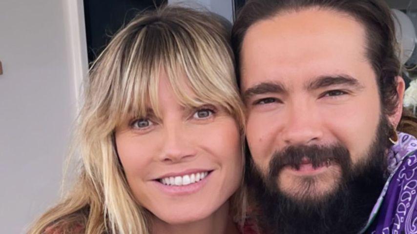 Unzählige Herzen: Heidi Klum gratuliert Tom zum Hochzeitstag