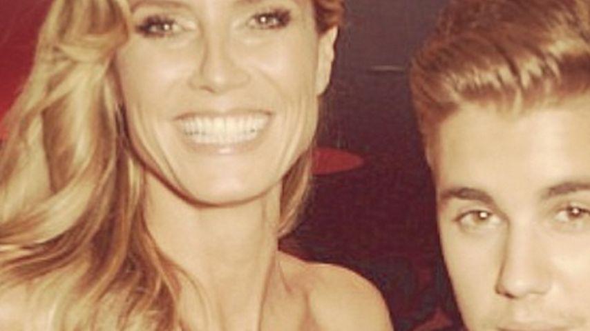 Wurde Heidi Klum von Justin Bieber begrapscht?