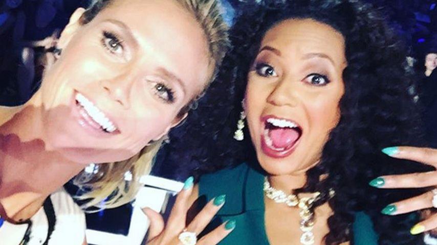 Selfie-Time: Heidi Klum & Mel B. sind richtige Freundinnen