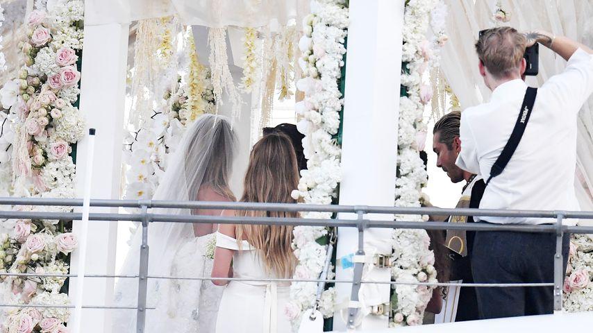 Heidi Klum und Tom Kaulitz beim Jawort