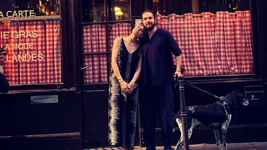 Heidi Klum & Tom Kaulitz turteln superverliebt durch Paris!