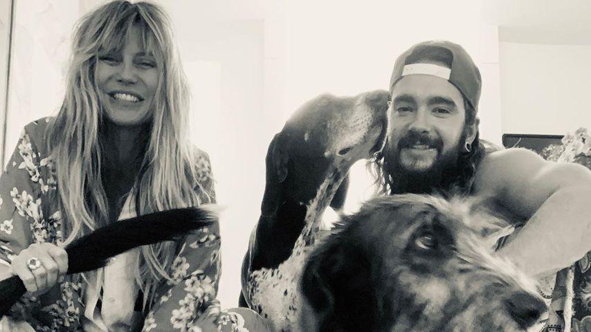 Heidi Klum und Tom Kaulitz im September 2019