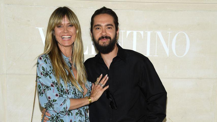 Heidi Klum und Tom Kaulitz im Juli 2019