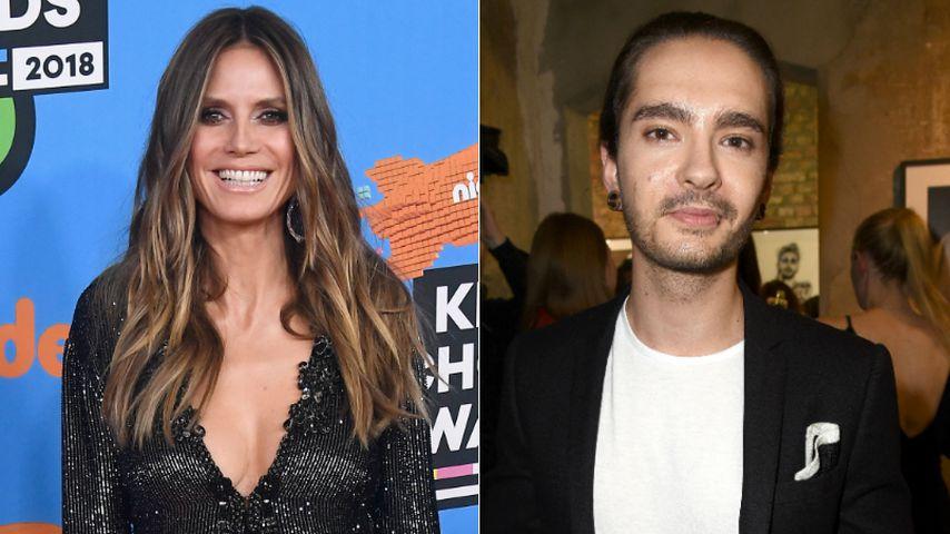 Heidi Klum knutscht mit Tom Kaulitz: Das sagen die Promis!